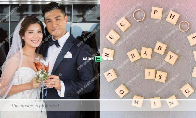 Ruco Chan announces his wife, Phoebe Sin is expecting