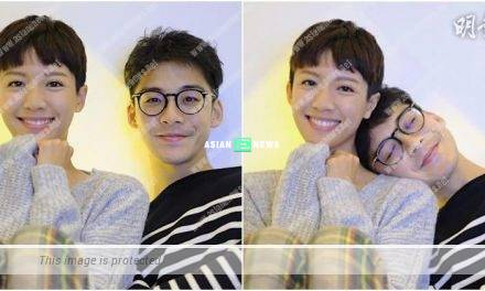 Announcing their romance? Sisley Choi and Dickson Yu smile sweetly