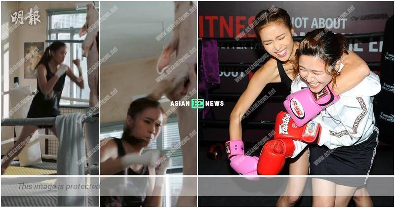 Tiffany Lau's parent feel it is disgusting when using a pig corpse for boxing