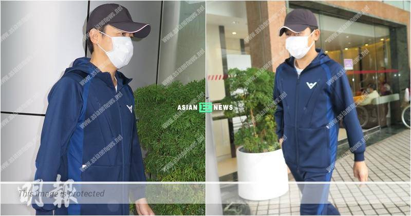 Tony Leung looks secretive at the hospital