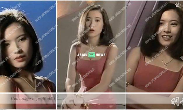 Yammie Lam expressed her thoughts in TVB advertisement