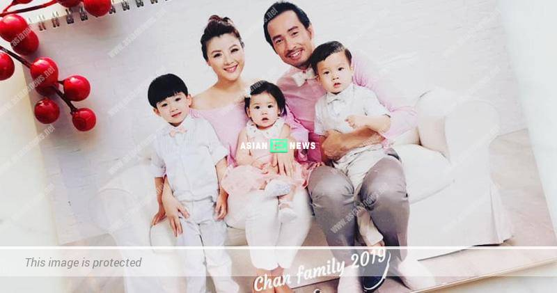 Creative Aimee Chan designs a 2019 calendar showing her family photos