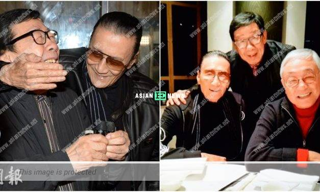 Forget about the past? Patrick Tse and Kenneth Tsang have dinner together