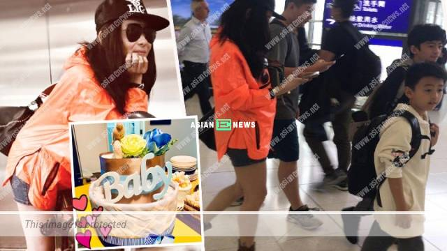 Cecilia Cheung travels to Singapore; Nicholas Tse and Patrick Tse jog together