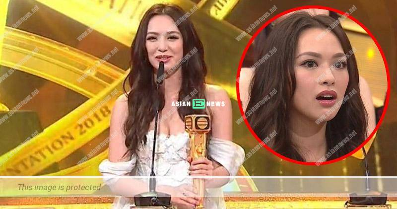 2018 TVB Anniversary Awards: Crystal Fung won Most Improved Female Artiste Award
