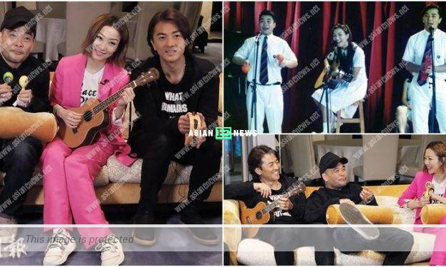 Sammi Cheng demands to check Ekin Cheng's big thighs but turns out to be small