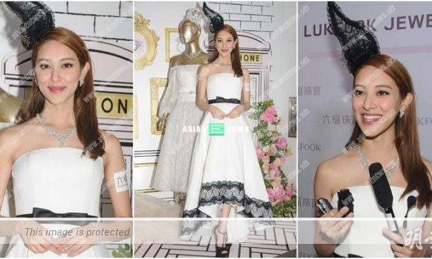 Grace Chan denied about registering a prestigious school for her baby son