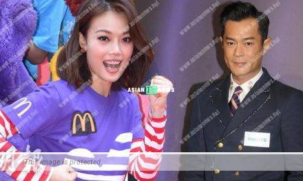 Joey Yung suggests Louis Koo to sing a song if he wins an award