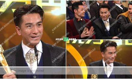 2018 TVB Anniversary Awards: Kenneth Ma won Most Popular Male Character Award