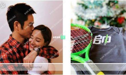 Grace Chan is expecting a baby boy; Kevin Cheng is waiting for him