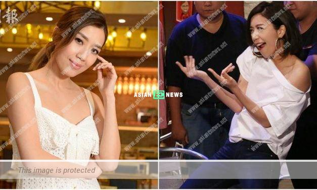 Hoping to become TV Queen again? Mandy Wong admits she has pressure