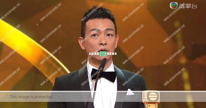 2018 TVB Anniversary Awards: Oscar Leung won Best Actor in a Supporting Role Award
