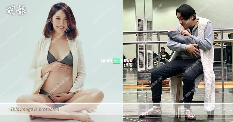 Wong Cho Lam's wife, Leanne Li is giving birth before 2019