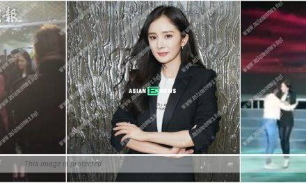 Yang Mi shows her first appearance after her divorce news