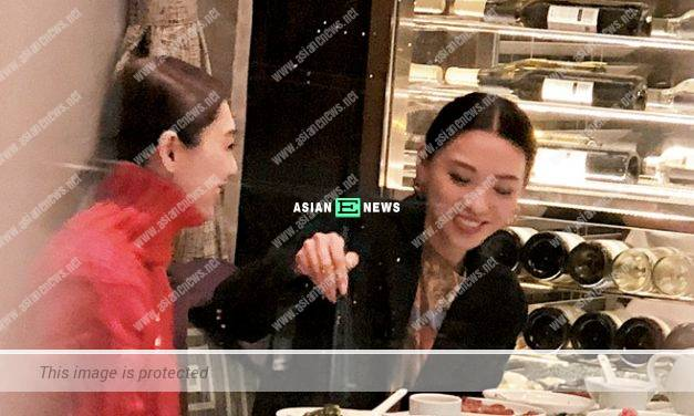 Alice Chan treats Nancy Wu to dinner for the guidance
