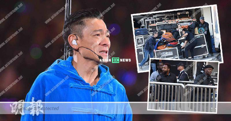 Andy Lau cancelled 4 sessions of his concert; The equipment was removed