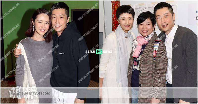 Steven Ma performs a stage play; Anne Heung supports him to shoot a movie