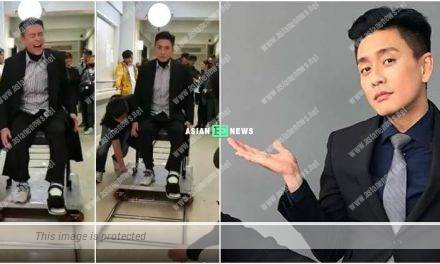 Bosco Wong's left leg is injured; The film director thinks of another method