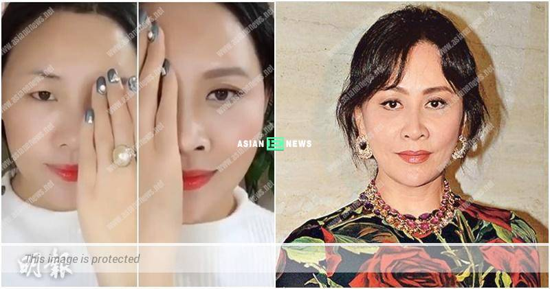 Netizen resembles Carina Lau after applying make-up?