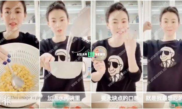 Cecilia Cheung eats salad and loses weight quickly?