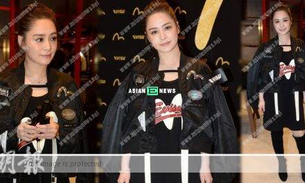 Gillian Chung requests the reporters to call her Mrs Lai