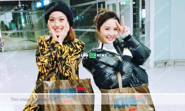 Joey Yung and Charlene Choi carry the same bags when working