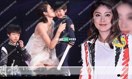Kelly Chen's younger son has flu infection and asks if he is going to die