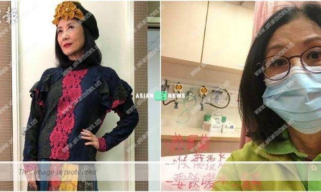 Professional Liza Wang continues to work despite suffering from a flu