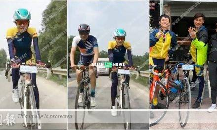 Louisa Mak has recovered and continues to cycle to Cambodia