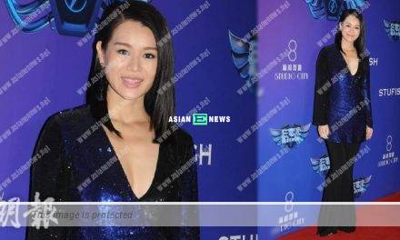 Myolie Wu gains weight and admits indirectly to her pregnancy