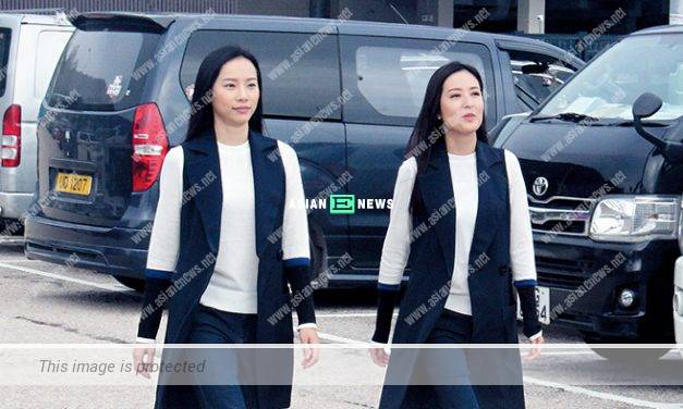 TV Queen, Natalie Tong has two stuntmen arranged for one scene