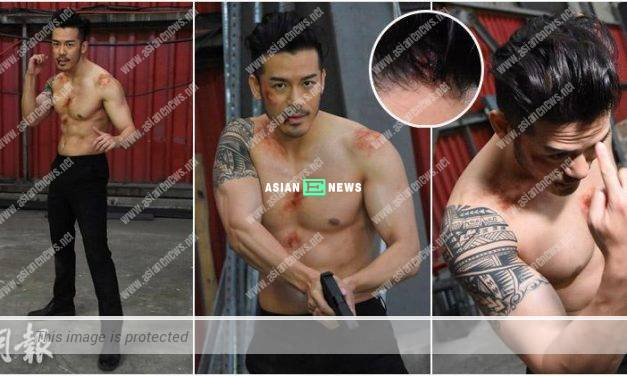 Sammy Sum is injured when filming fighting scene in new film