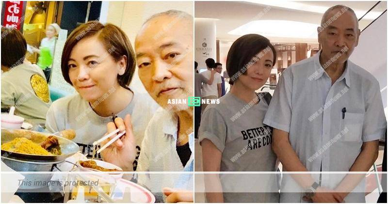 Sheren Tang and her father eat continuously during holidays
