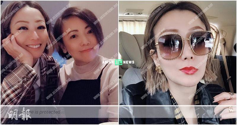 Sammi Cheng and Sheren Tang are good friend and chat endlessly