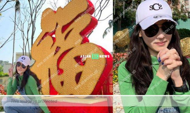 Cecilia Cheung loses weight quickly and wishes happy new year to everybody