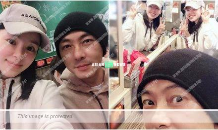 Zoie Tam treats Dicky Cheung to noodles as belated birthday celebration