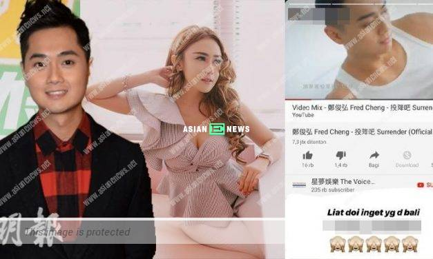 Fred Cheng flirts with a sexy model behind Stephanie Ho's back?