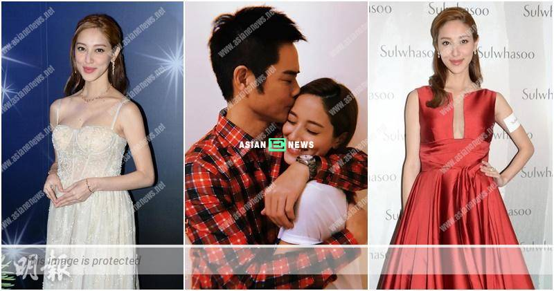 Congratulations! Grace Chan gives birth to a baby boy