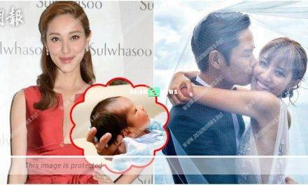 Grace Chan looks energetic and praises her son is good looking