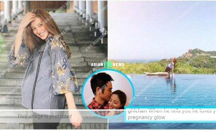 Expecting Grace Chan reveals the mushy words said by Kevin Cheng