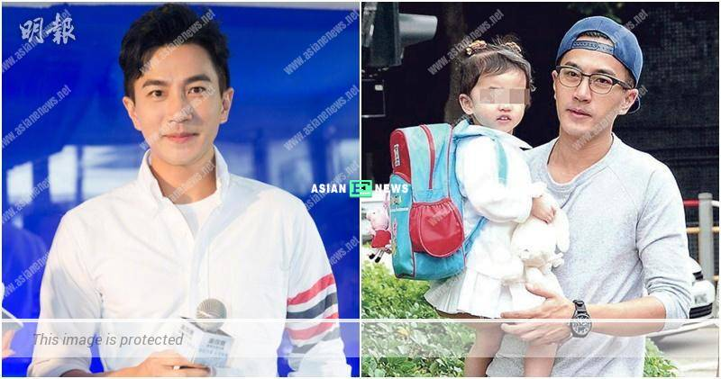 Hawick Lau is full of smiles when mentioning about his daughter
