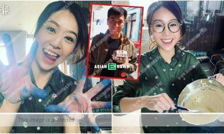 Jacqueline Wong bakes a cake for her boyfriend, Kenneth Ma?