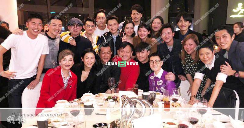 Louis Koo, Jessica Hsuan and Raymond Lam are invited to a dinner party