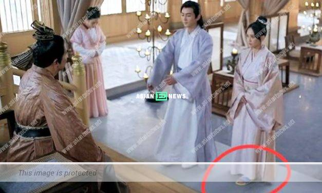 Joe Chen is caught wearing Peppa Pig slippers in Queen Dugu drama