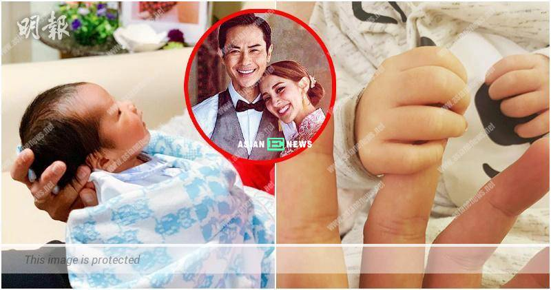 Kevin Cheng praises his son, Rafael has a strong handshake