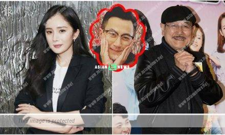 Lau Dan smiles when asking about his granddaughter and avoids talking about Yang Mi