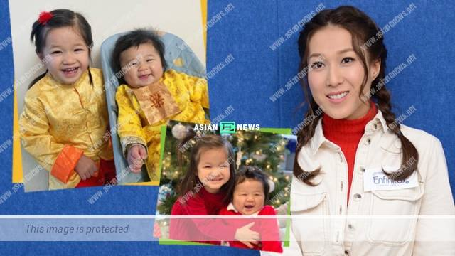 "Linda Chung becomes a ""superwoman"" for her family"