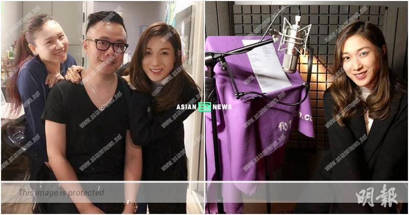 Hooray! Linda Chung is currently preparing her new song