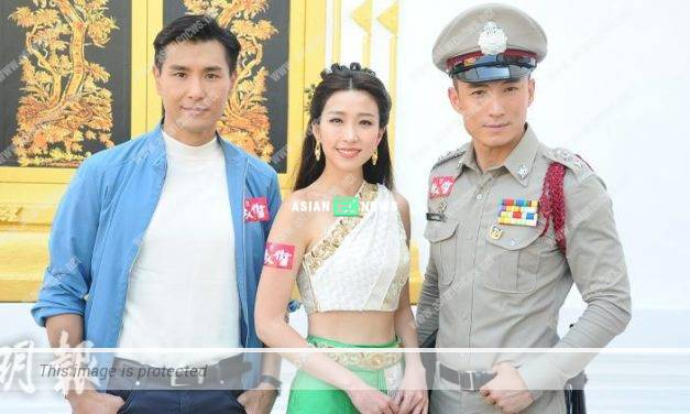 Ruco Chan gains more than 10 pound after having a feast with Phoebe Sin