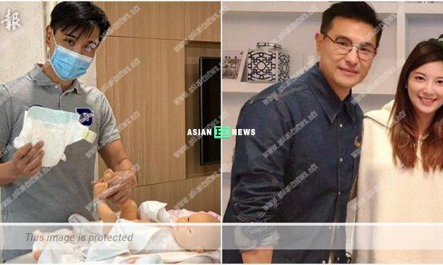 Ruco Chan is prepared and goes for nursing classes